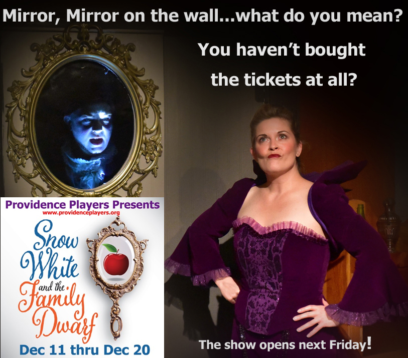 Mirror Mirror On The Wall What Youve Bought No Tickets At All