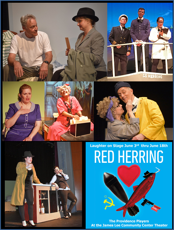 Providence Players Red Herring Montage 2b Photo By Chip Gertzog