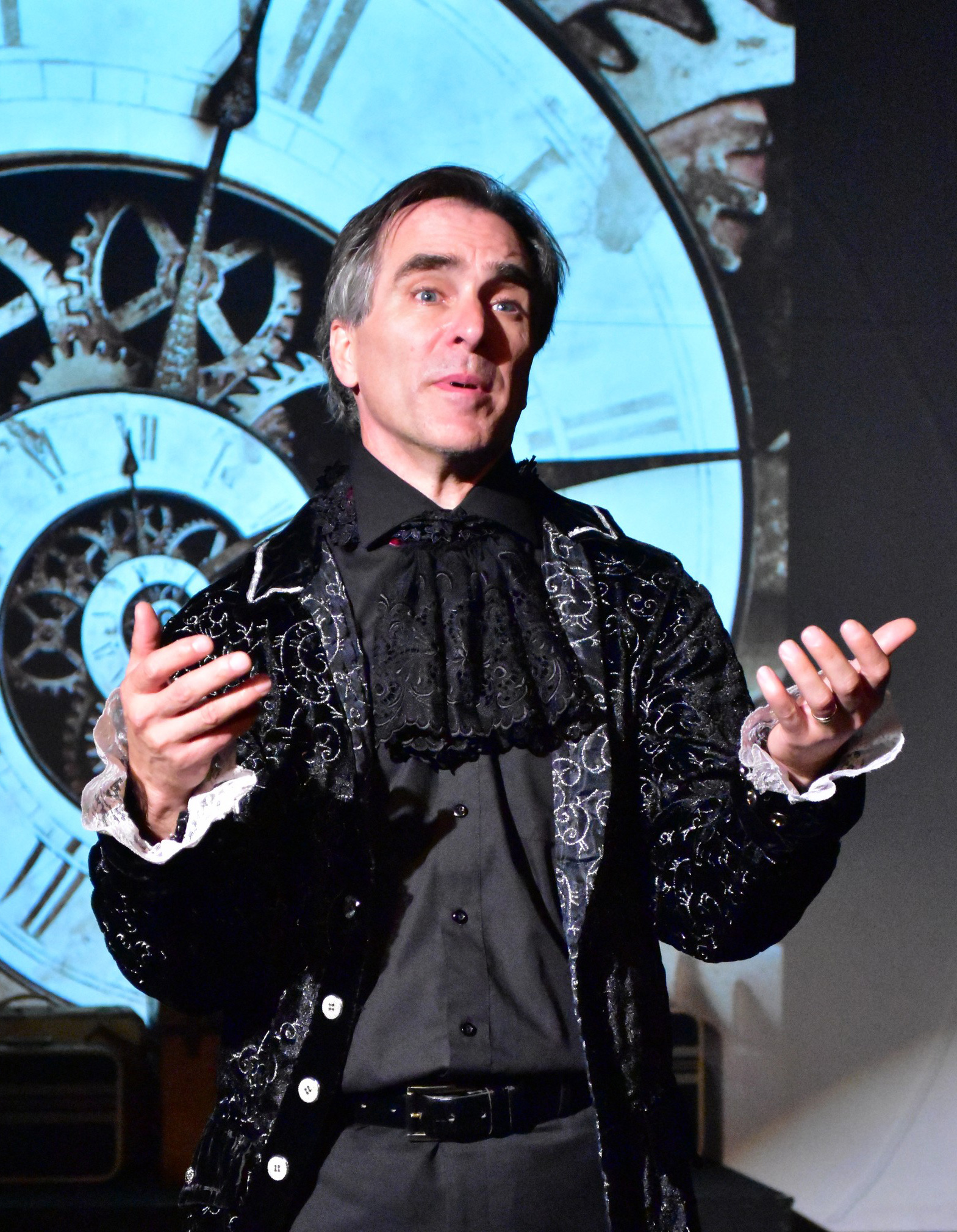David Whitehead as Antonio Salieri in Amadeus