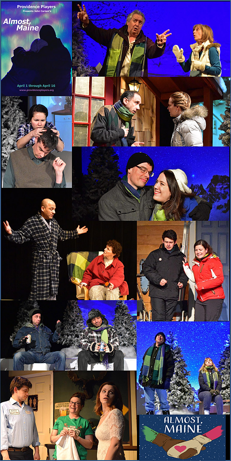 Providence Players Almost Maine Opening Week Photo Montage