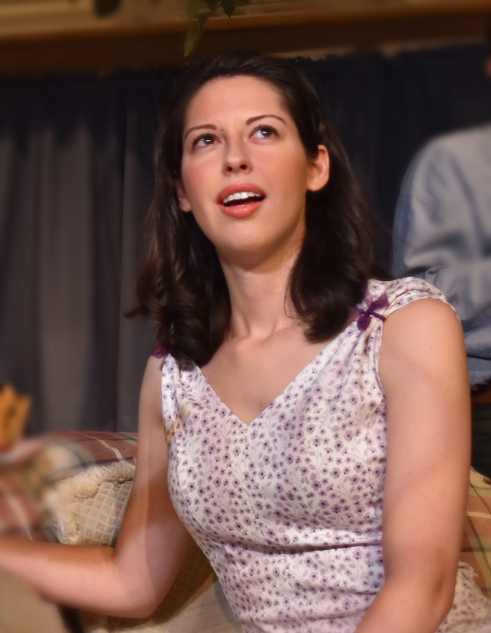 Lindsey Doane as Nina Photo by Chip Gertzog Providence Players