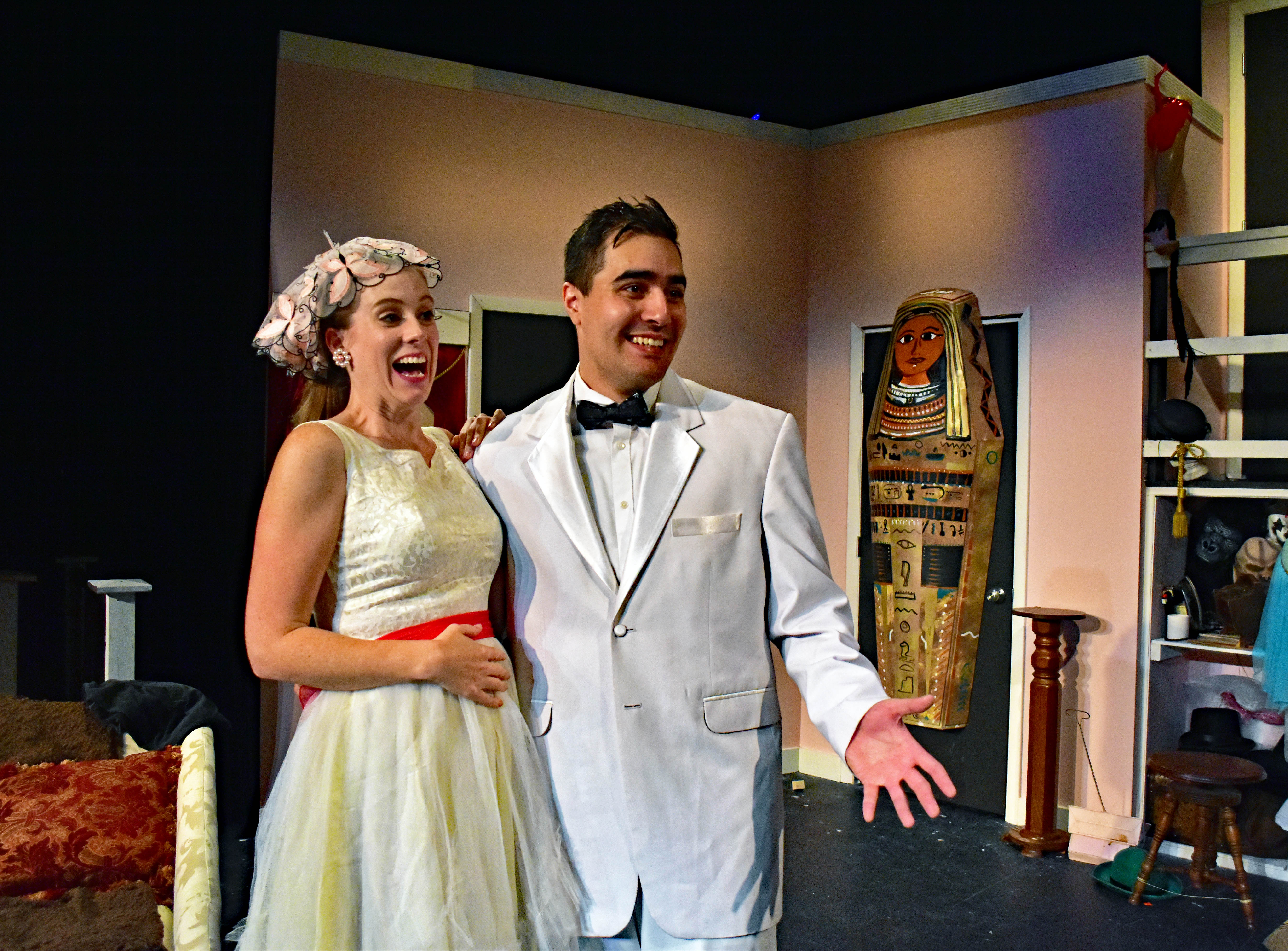 """Moon Over Buffalo"" October 6 - 21 at the James Lee Community Center Theater. Photo by Chip Gertzog, Providence Players"