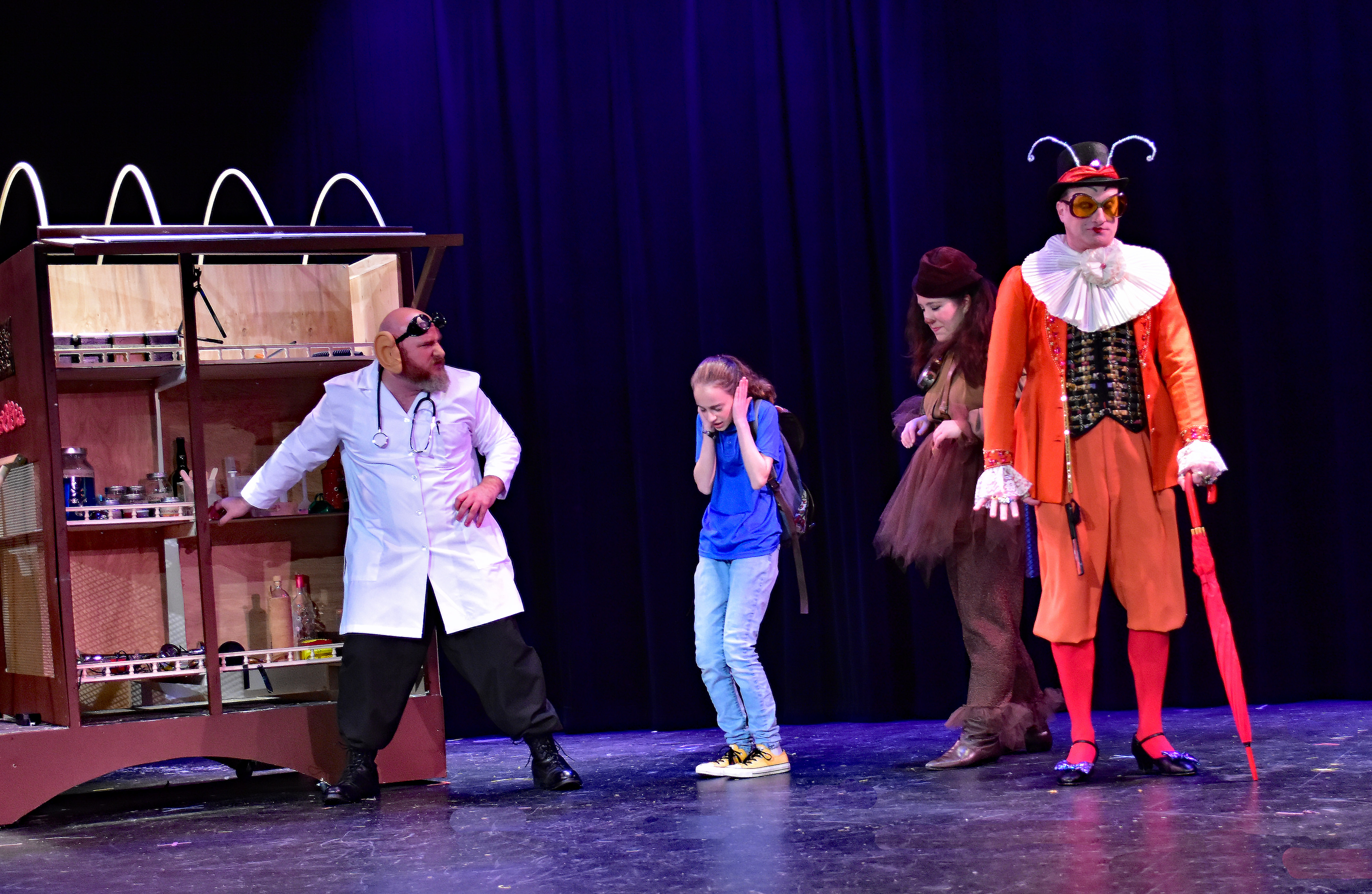 The Providence Players The Phantom Tollbooth Photo by Chip Gertzog Providence Players