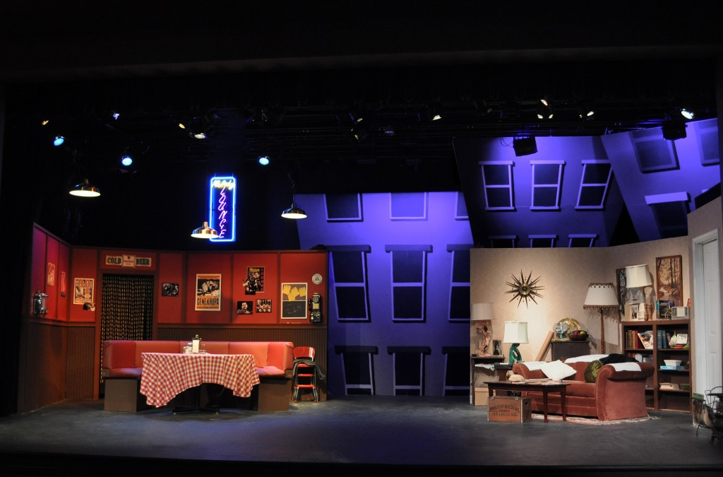 Image: The Set of the Providence Players Production of Side Man