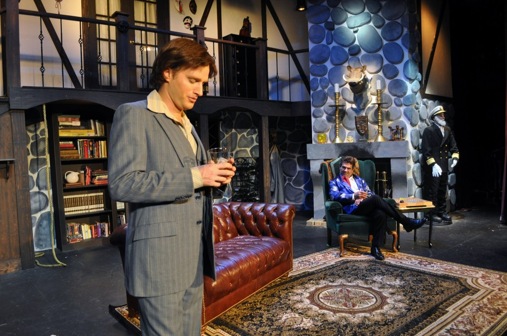 Derek Bradley and Mike Donahue in PPF Production of Sleuth - Photo Bt Chip Gertzog, PPF