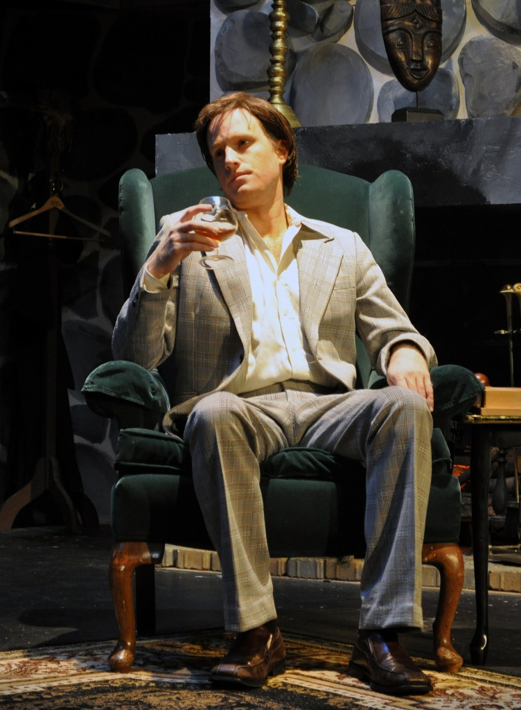 Derek Bradley as Milo Tindle in the PPF Production of Sleuth - Photo By Chip Gertzog, PPF
