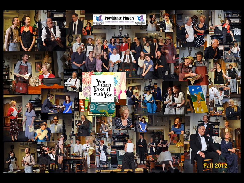 "PPF's Production of ""You Can't Take It With You"" received 8 WATCH Nominations."