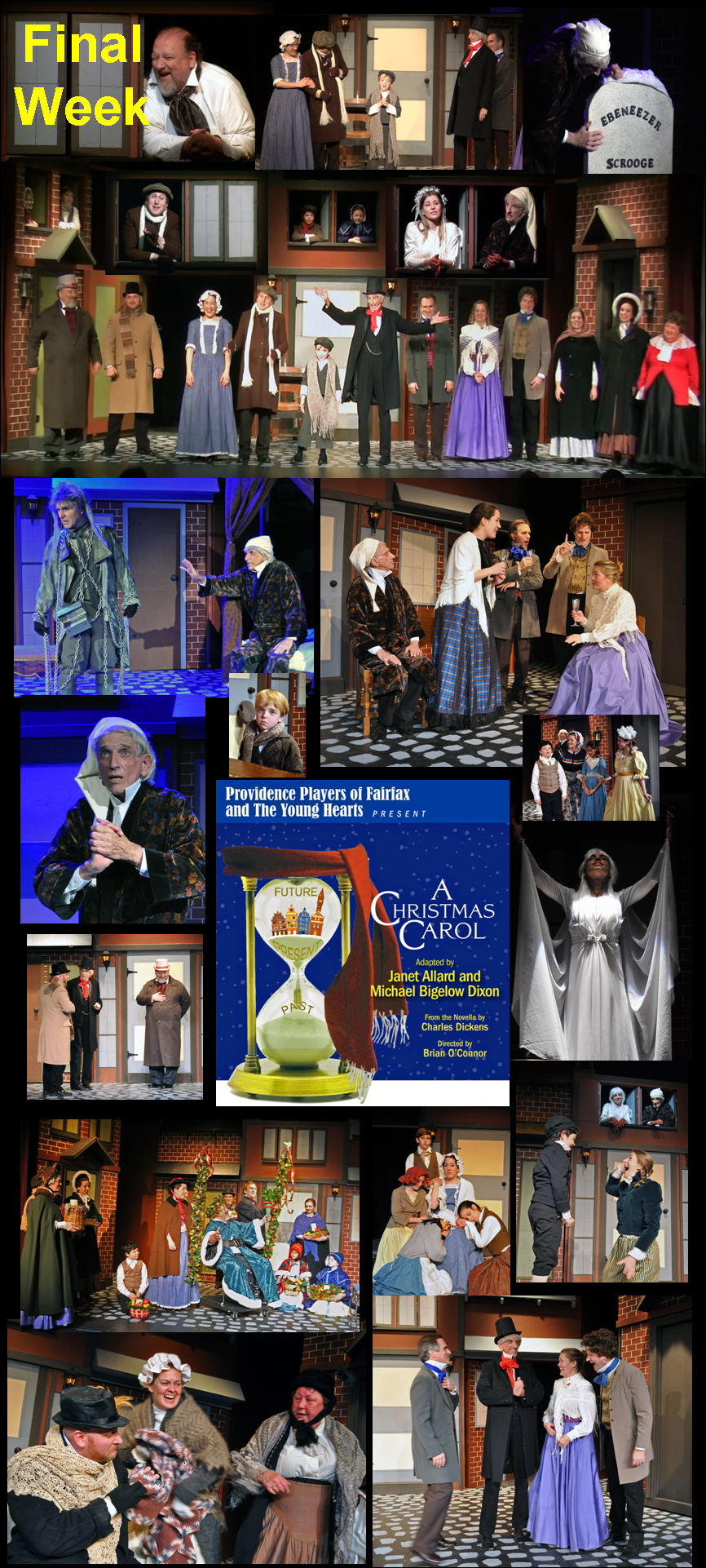 A Christmas Carol Montage By Chip Gertzog, Providence Players