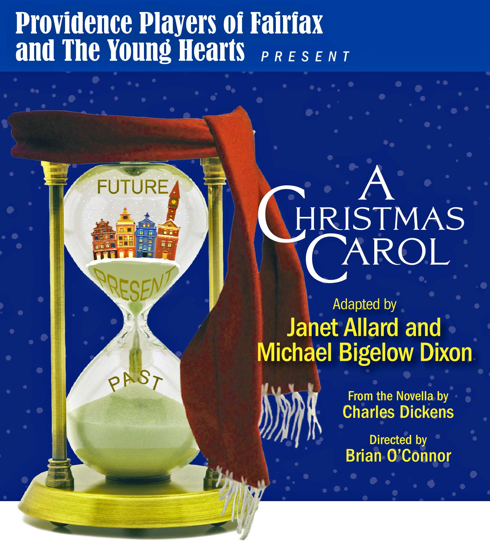 A Christmas Carol - December 6th through December 15th for 9 Performances: Thurs, Fri, Sat at 7:30 PM. Sat and Sun at 2:00 PM