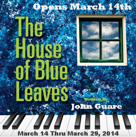 The House of Blue Leaves logo with dates