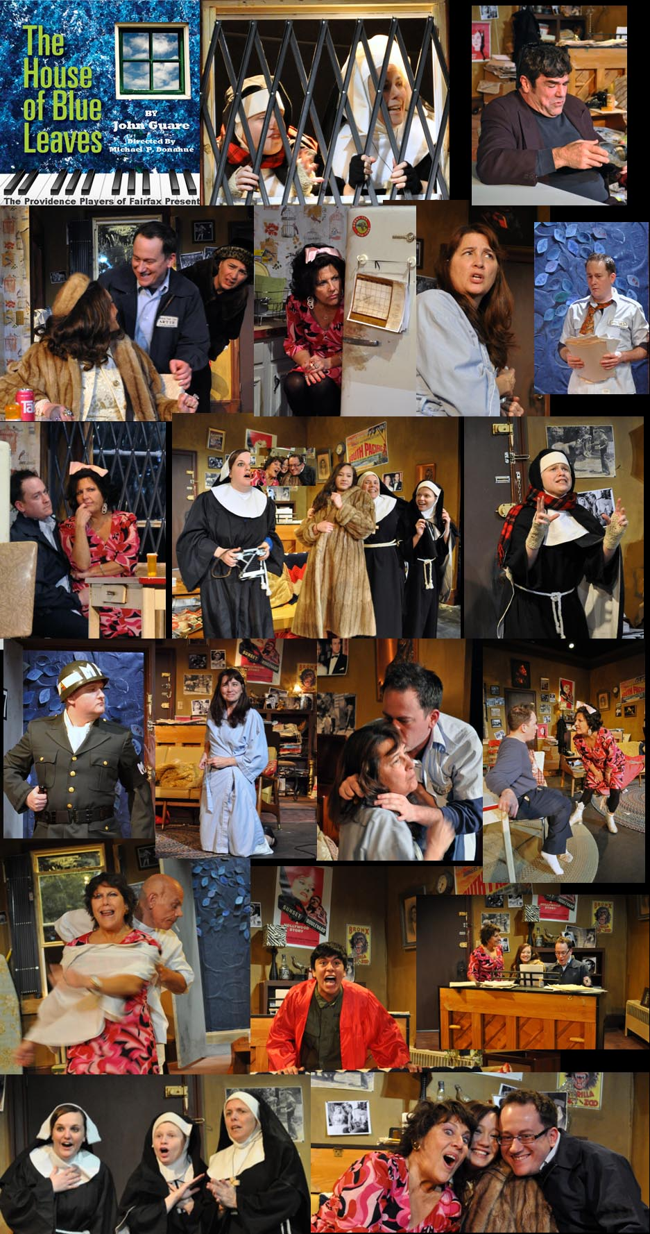 Production Photos of PPF's The House of Blue Leaves Photos by Chip Gertzog