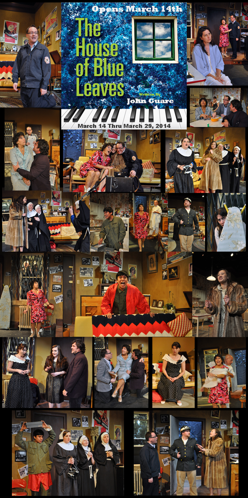 PPF The House of Blue Leaves Opening Week Montage Photo by Chip Gertzog