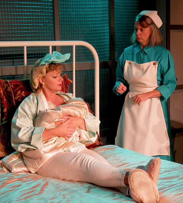 The Women Hospital Edith, Nurse Photo by Chip Gertzog PPF RS