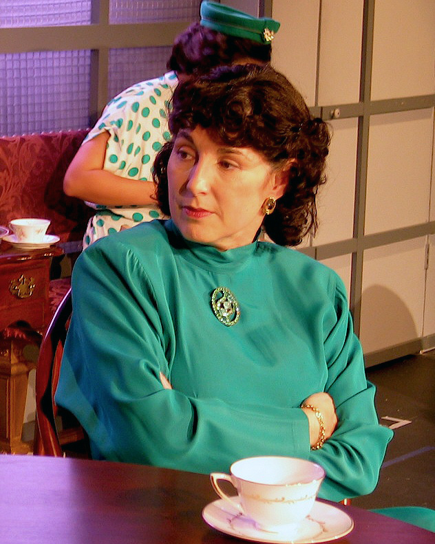 The Women Tina Thronson as Mary Photo by Chip Gertzog PPF