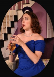 Andra Whitt as Claire Ganz Photo by Chip Gertzog Providence Players