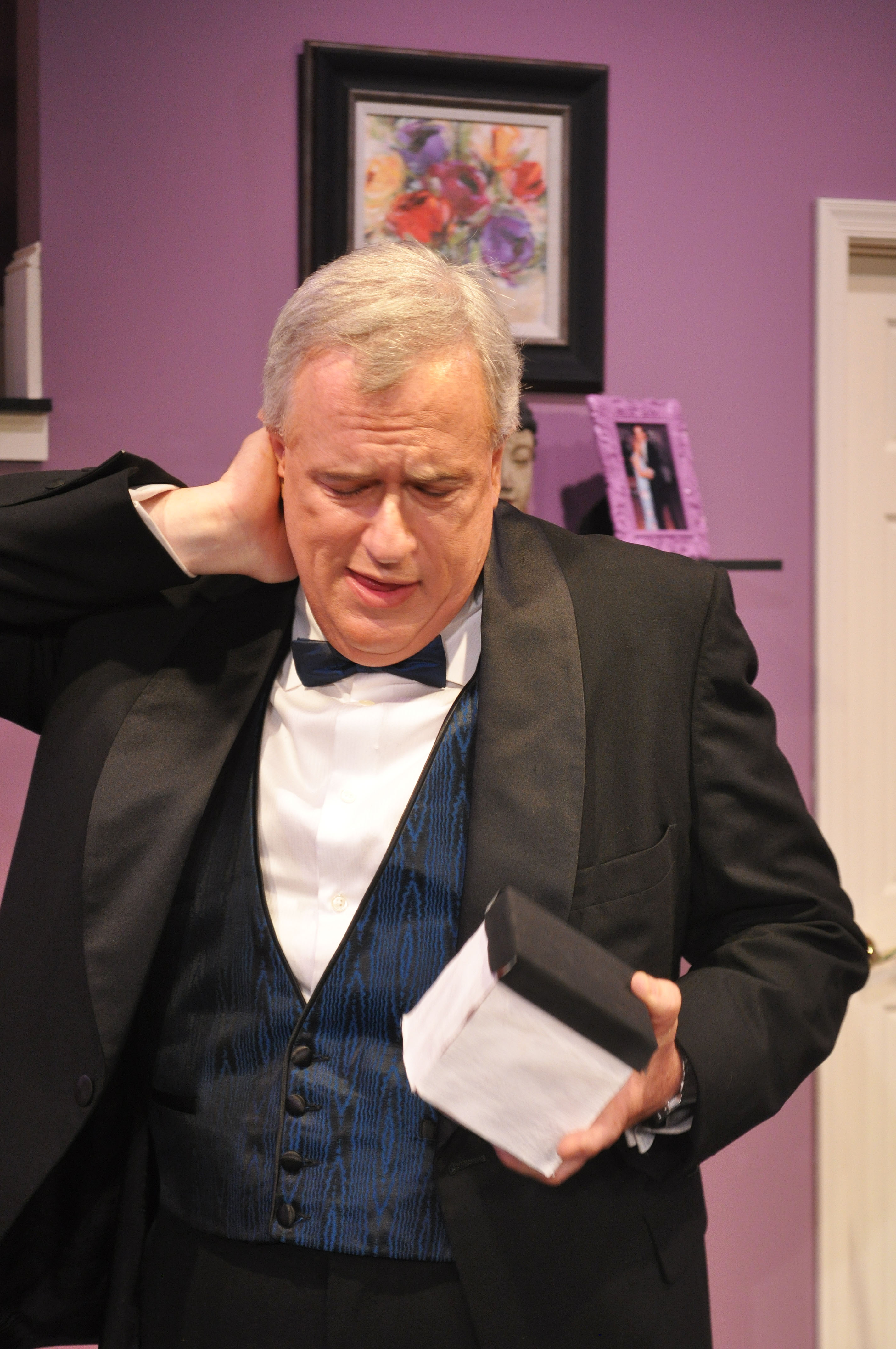Don Myers as Lenny Ganz - 2014 Best Featured Actor in a Play - DCMTA Photo by Chip Gertzog Providence Players