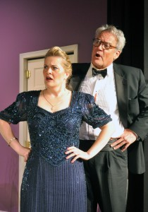 PPF Rumors: Charlene Sloan and Patrick David as Chris and Ken Gorman Photo By Chip Gertzog Providence Players
