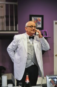Craig Geoffrion as Ernie Cusack Photo By Chip Gertzog Providence Players