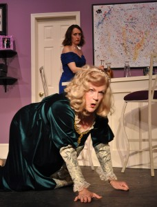 Beth Hughes-Brown as Cookie and Andra Whitt as Claire-Providence Players Photo by Chip Gertzog