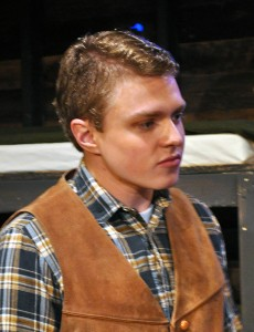 Michael Dempsey as Curley Providence Players Of Mice and Men Photo by Chip Gertzog