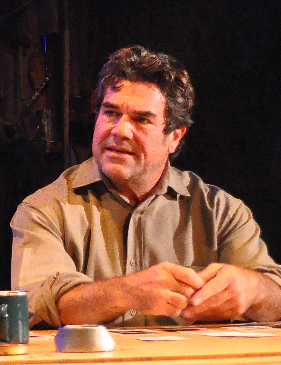 Michael Donahue as George - 2014 Best Actor in a Play - DCMTA Photo by Chip Gertzog Providence Players