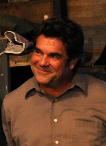 Michael Donahue as George in the Providence Players production of John Steinbeck's Of Mice and Men