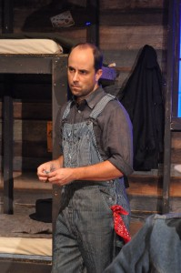 Bobby Welsh as Whit - Providence Players Of Mice and Men Photo by Chip Gertzog