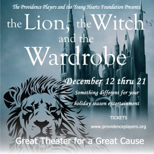 Providence Players The Lion, the Witch and the Wardrobe Logo