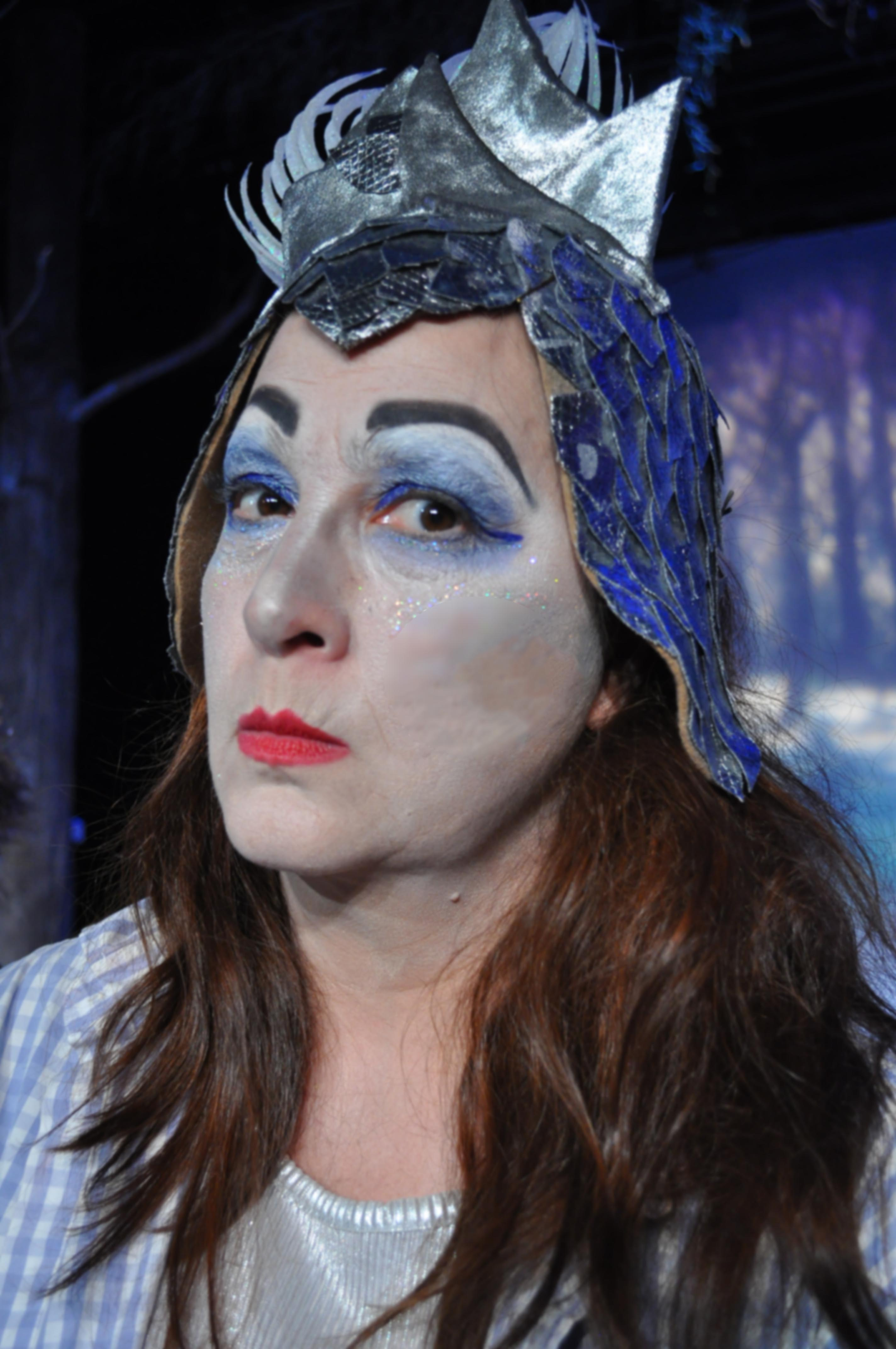 Beth Gilles- Whitehead as The White Witch 2014 Best Featured Actress in a Play - Photo by Chip Gertzog Providence Players