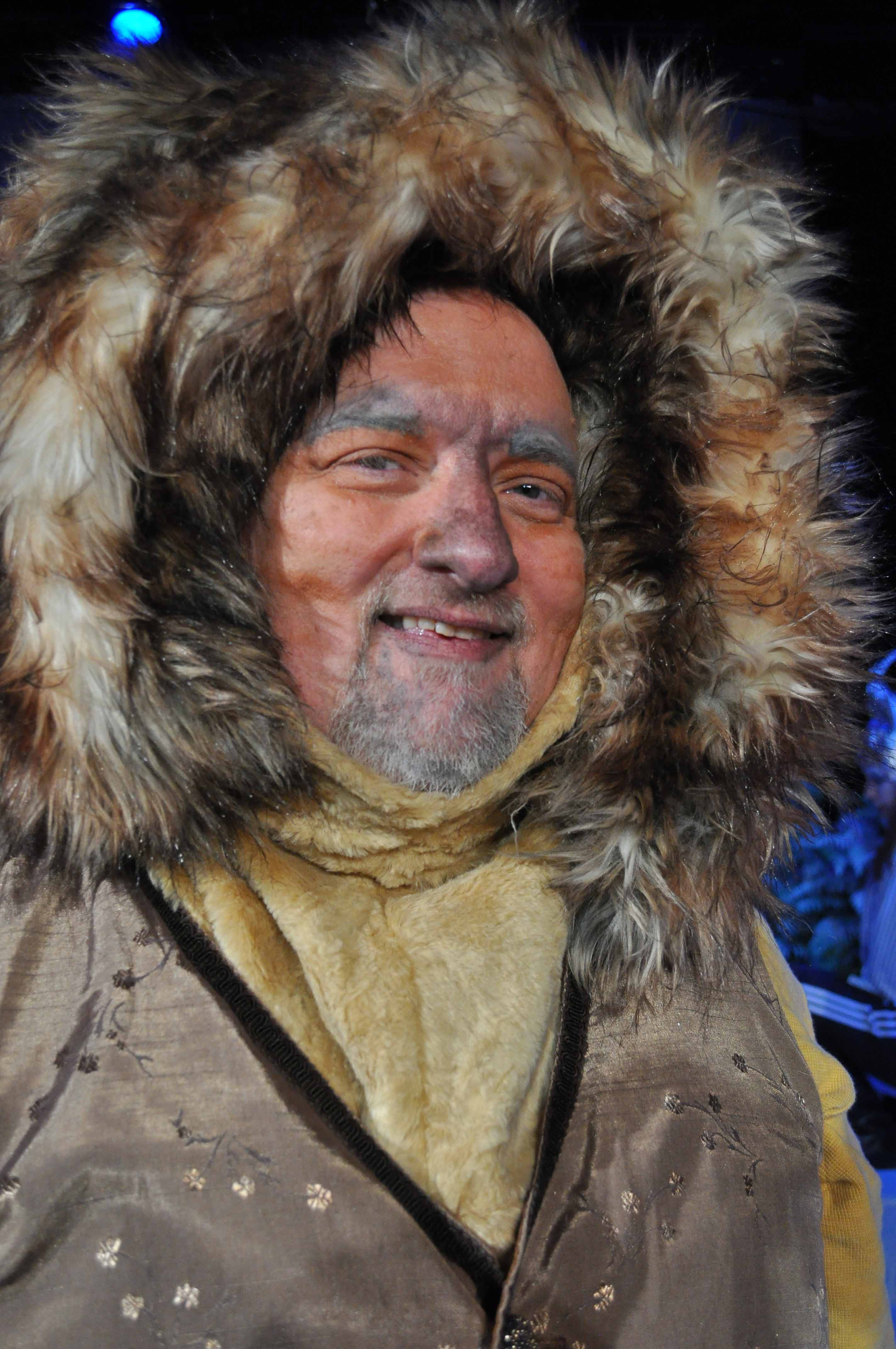 Bill Fleming as Aslan - 2014 Best Actor in a Play Photo by Chip Gertzog Providence Players
