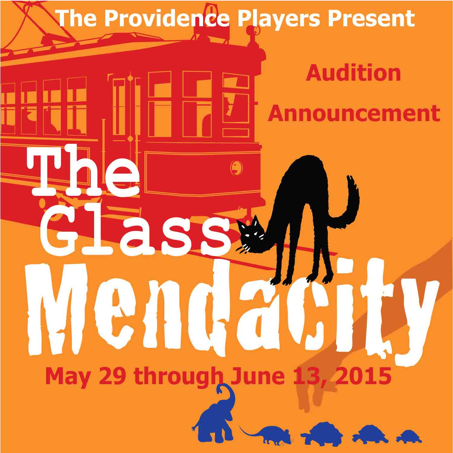 PPF TheGlassMendacity With Dates Audition Announcement 5x5