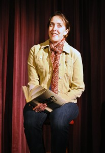 Andra Whitt as Brooke Wyeth Providence Players Other Desert Cities Photo by Chip Gertzog Providence Players