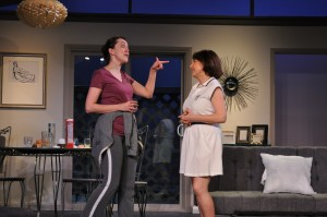"Andra Whitt and Tina Thronson in The Providence Players ""Other Desert Cities"" March 13 - 28, 2015 - Photo by Chip Gertzog Providence Players"