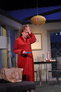 Barbara Gertzog as Silda Grauman in Providence Players Other Desert Cities Photo by Chip Gertzog Providence Players