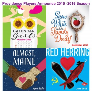 Providence Players Announce 2015-2016 Season