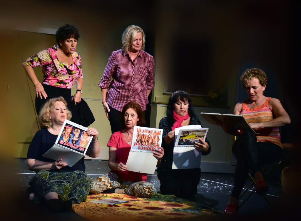 Providence Players Calendar Girls Photo by Chip Gertzog