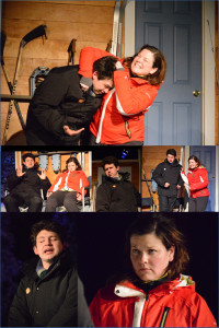 Providence Players Almost Maine Seeing the Thing Photo by Rob Cuevas Providence Players