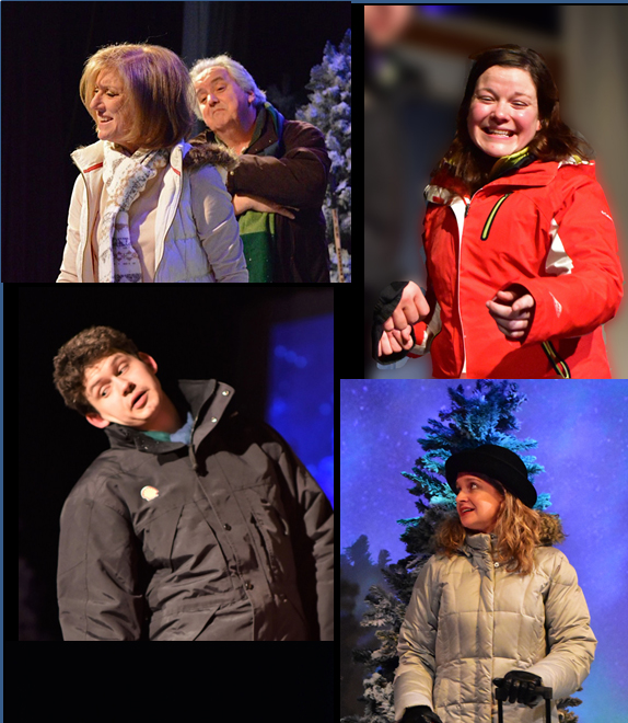 3 Almost Maine Cast Montage Providence Players