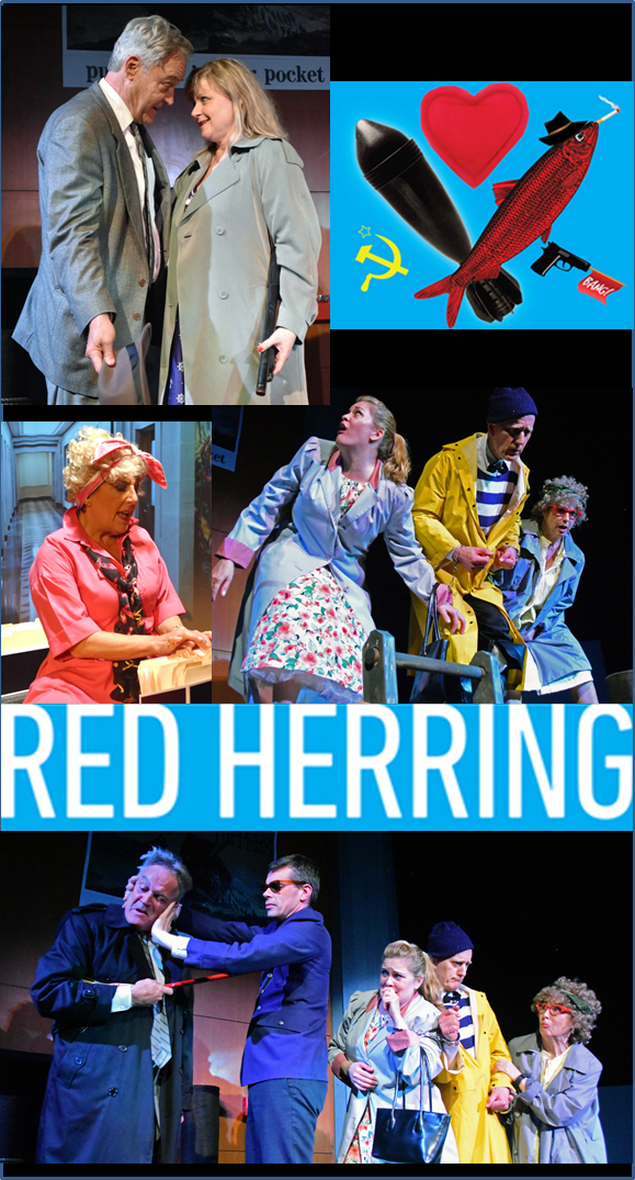 Red Herring Montage 1 Photo by Chip Gertzog Providence Players