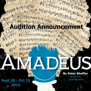 PPF Amadeus Audition Announcement