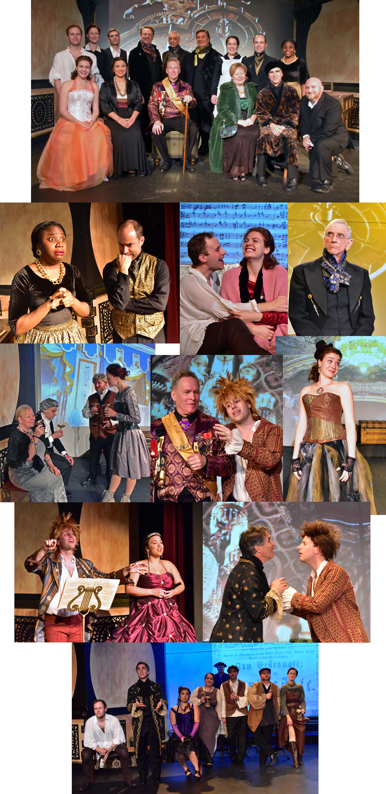 Amadeus Costumes By Robbie Snow Montage Photo by Chip Gertzog Providence Players