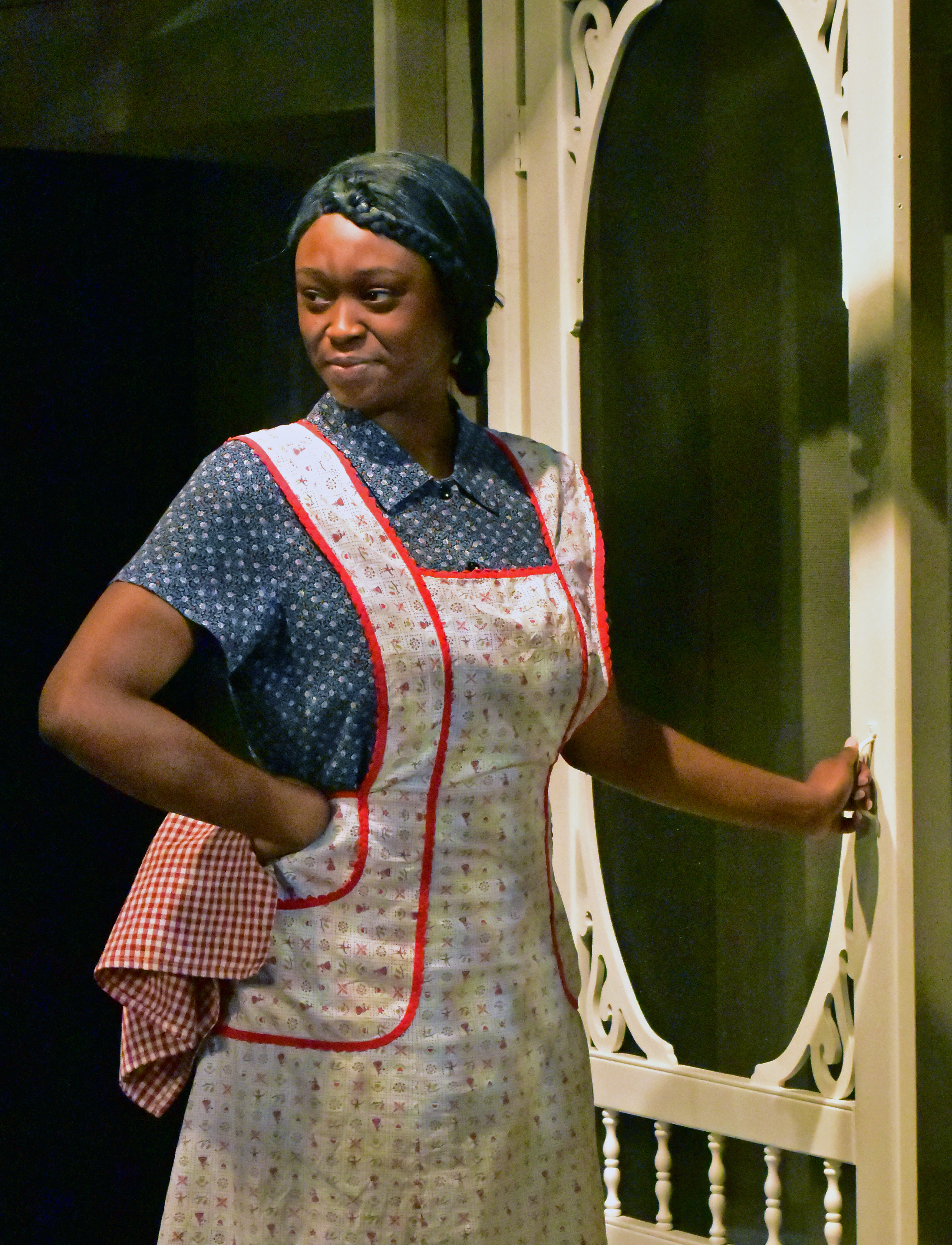Mihara India as Calpurnia in To Kill a Mockingbird Photo by Chip Gertzog Providence Players