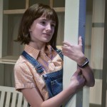 "Sophia Manicone is Scout in ""To Kill a Mockingbird"", Photo by Chip Gertzog, Providence Players"