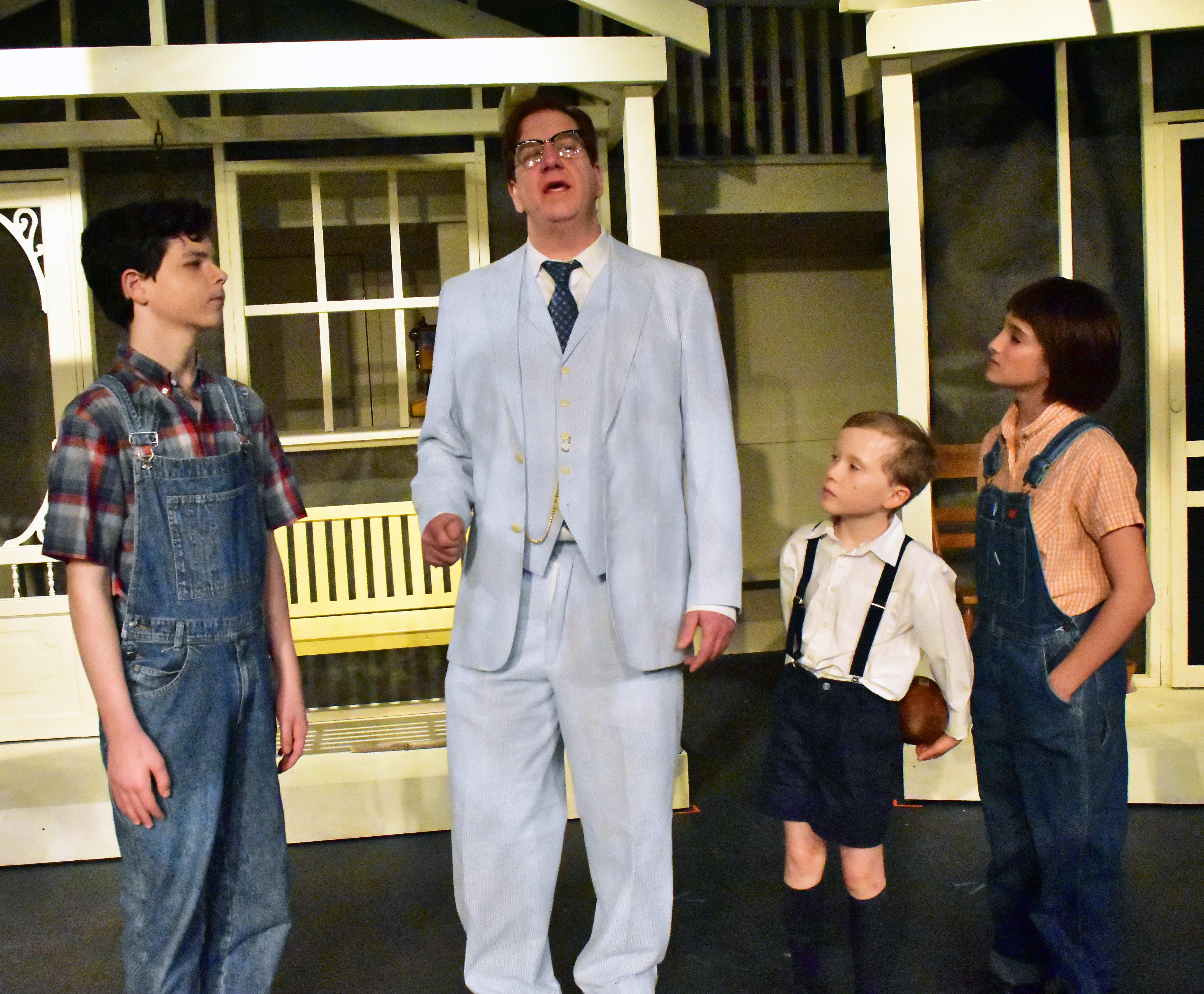 PPF TKAM Jem Atticus Dill Scout Photo by Chip Gertzog Providence Players