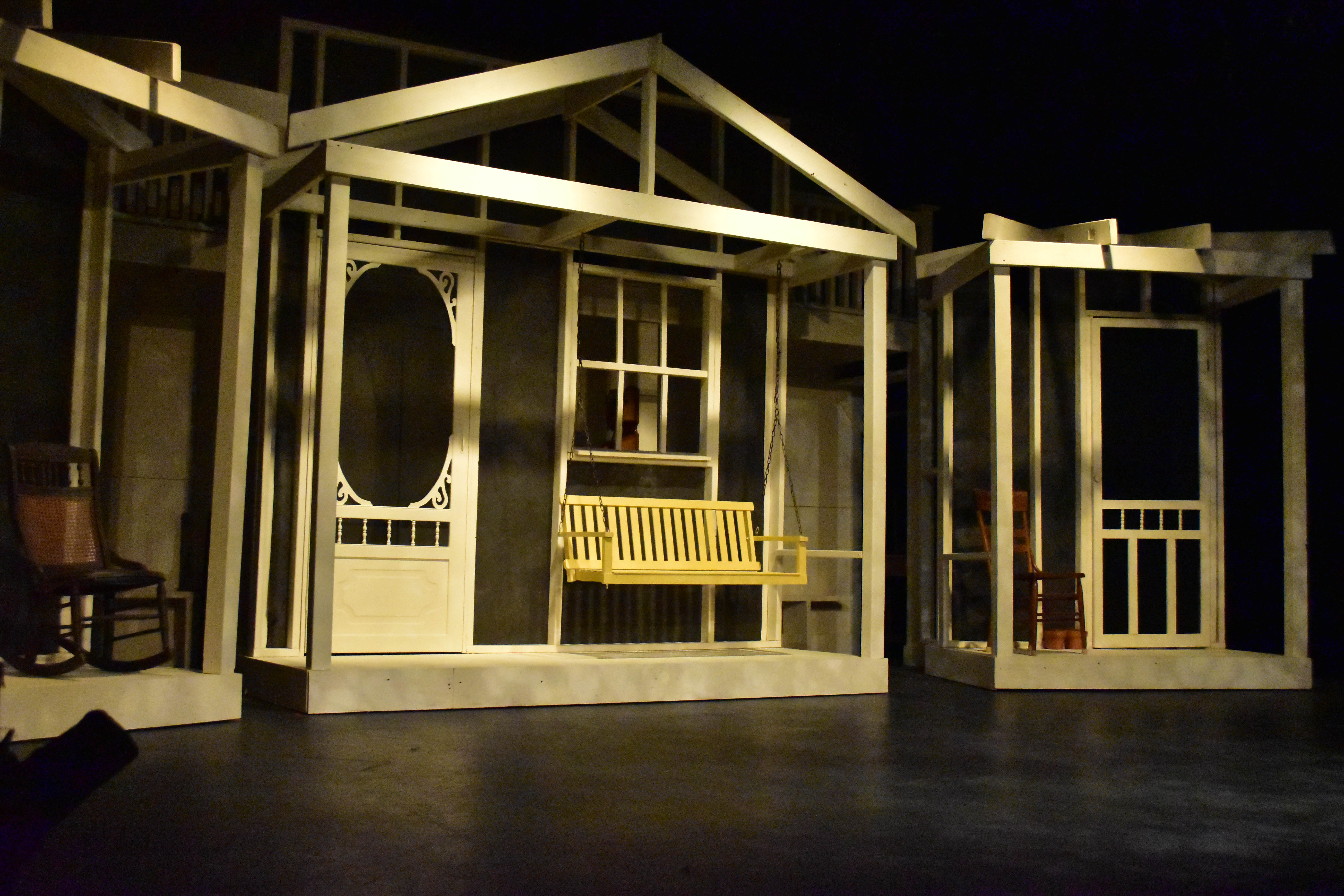 The Set of the Providence Players To Kill a Mockingbird by Ingrid and Patrick David Macomb Exteriors Photo by Chip Gertzog Providence Players