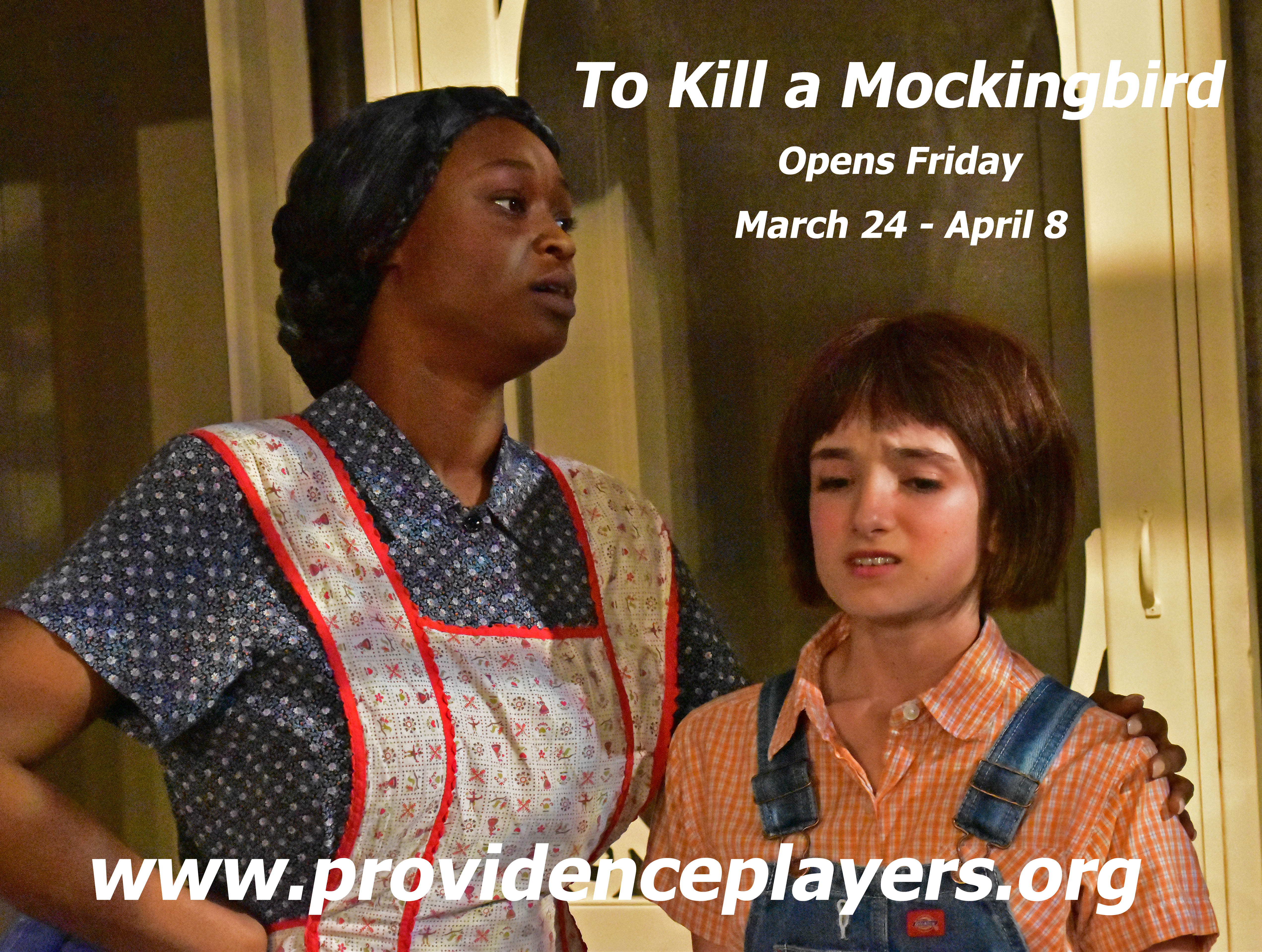 To Kill a Mockingbird Oopens Friday Calpurnia and Scout