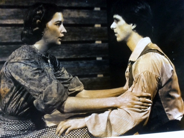 Providence Players Beth and David Whitehead in 1984 Photo by Chris Bennion To Kill a Mockingbird