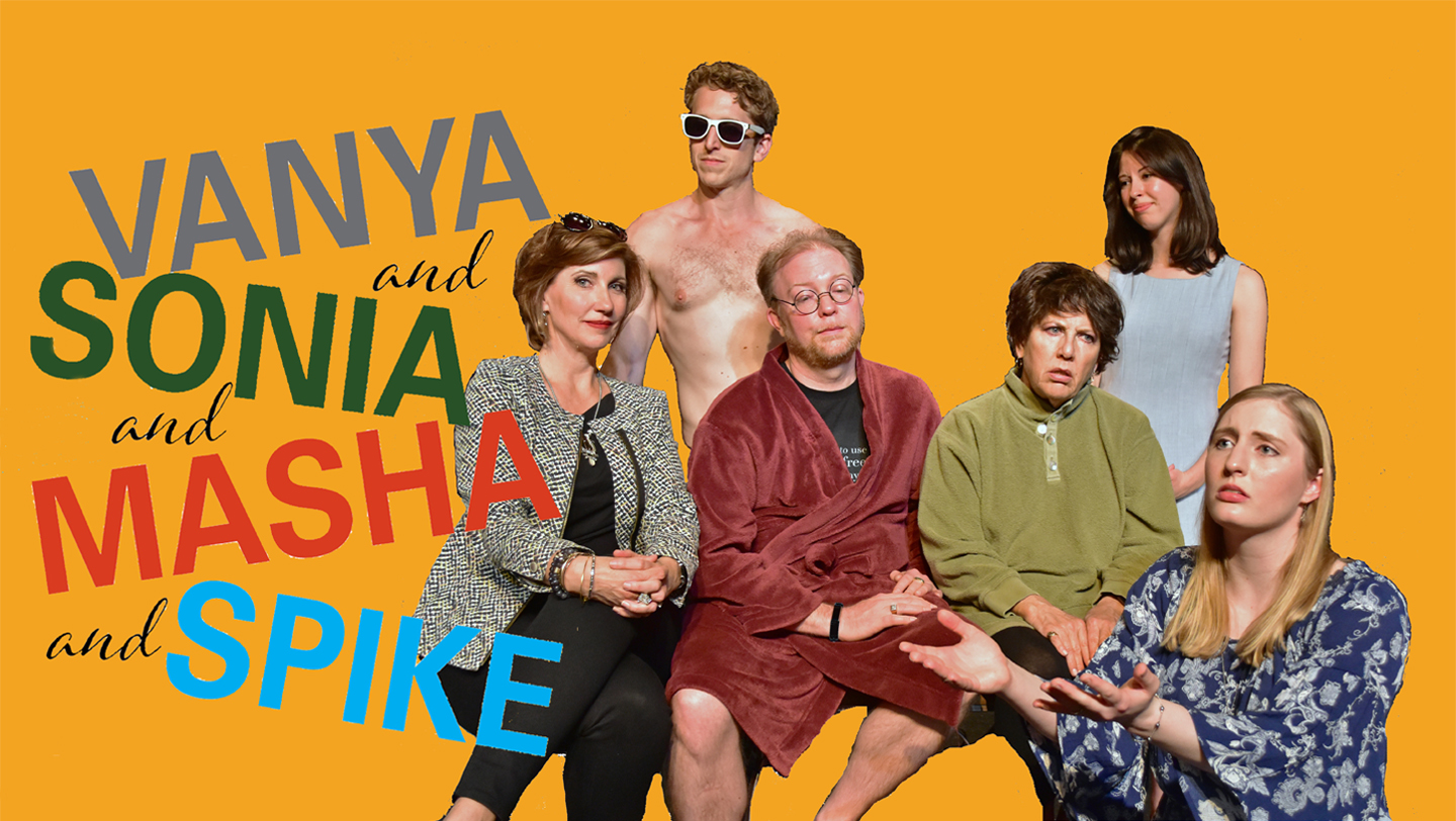 Vanya and Sonia and Masha and Spike Cast Photo by Chip Gertzog Providence Players