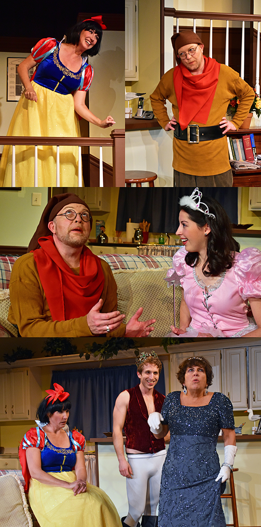 3 Montage The Providence Players Vanya Sonia Masha and Spike Photo by Chip Gertzog Providence Players