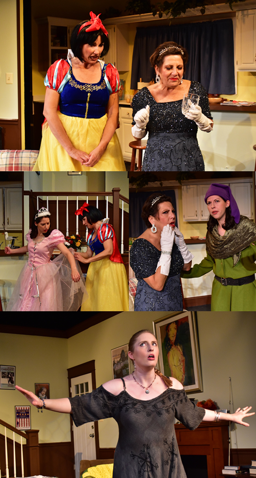 4 Montage The Providence Players Vanya Sonia Masha and Spike Photo by Chip Gertzog Providence Players